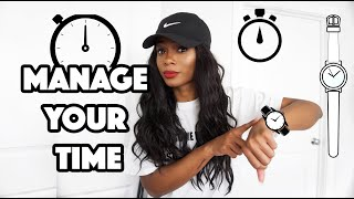 How To Manage Your Time To Get More Done. | Trishonnastrends