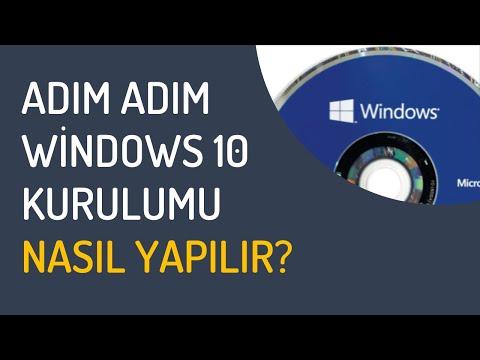 Windows 10 Kurulumu: Sıfırdan Windows 10 Kurulumu