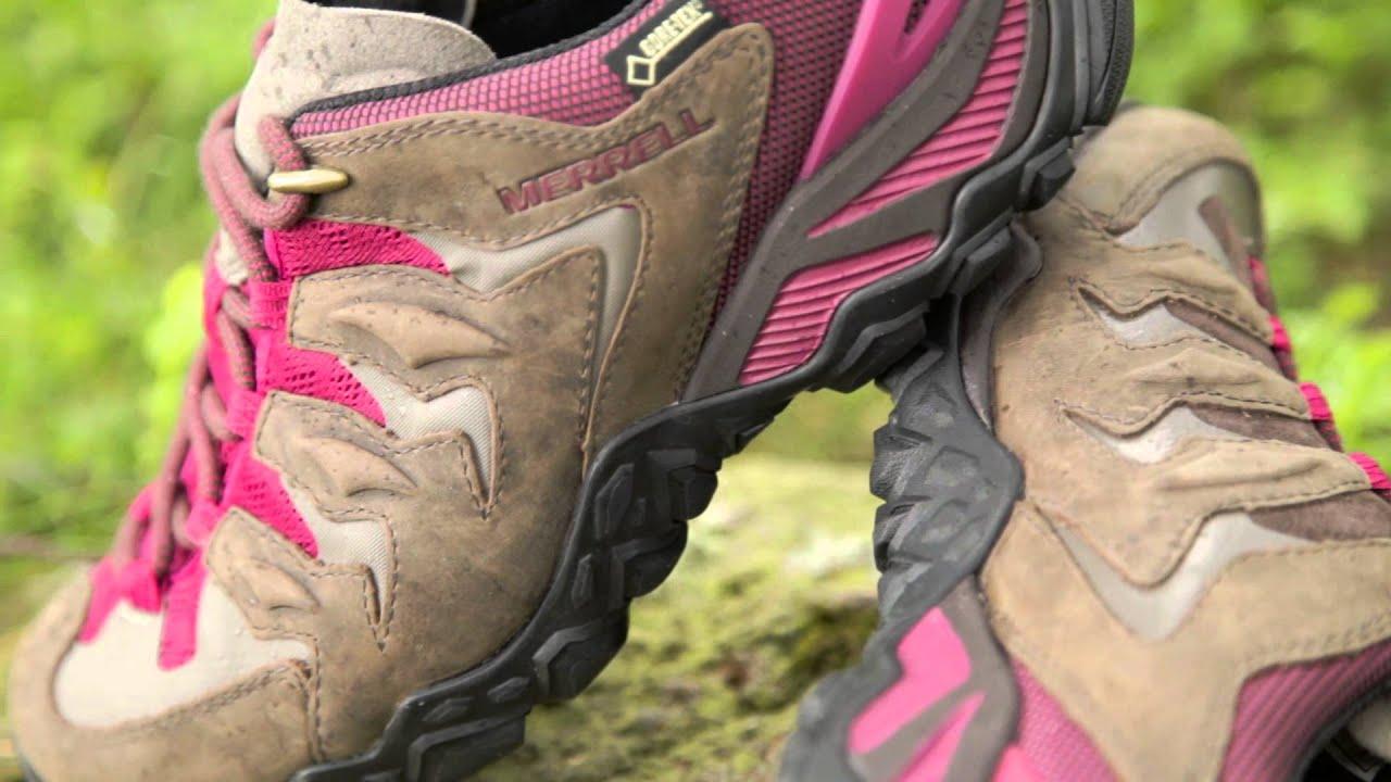 Women's Merrell Chameleon Shift Ventilator GTX Walking Shoes.  www.gaynors.co.uk - YouTube