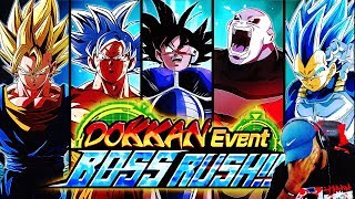 NEW MAX DIFFICULTY UI GOKU BOSS RUSH STAGE 7! Dragon Ball Z DBZ Dokkan Battle