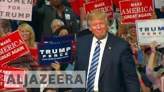 US election 2016: Trump slams the media for 'bias'