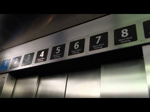 VINTAGE 1971 Westinghouse Selectomatic Traction Armstrong Elevators, Tampa Int'l Airport, Tampa, FL