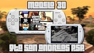 Lo que existió de GTA San Andreas para PSP | Modelo 3D | luigi2498