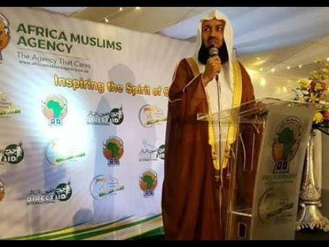 Mufti Menk at the Africa Muslims Agency Dinner