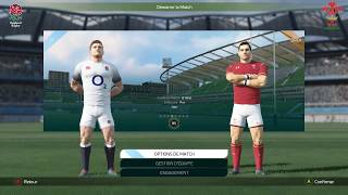 ANGLETERRE - PAYS DE GALLES : Rugby 18