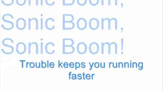 Sonic Boom (Crush 40) - Karaoke
