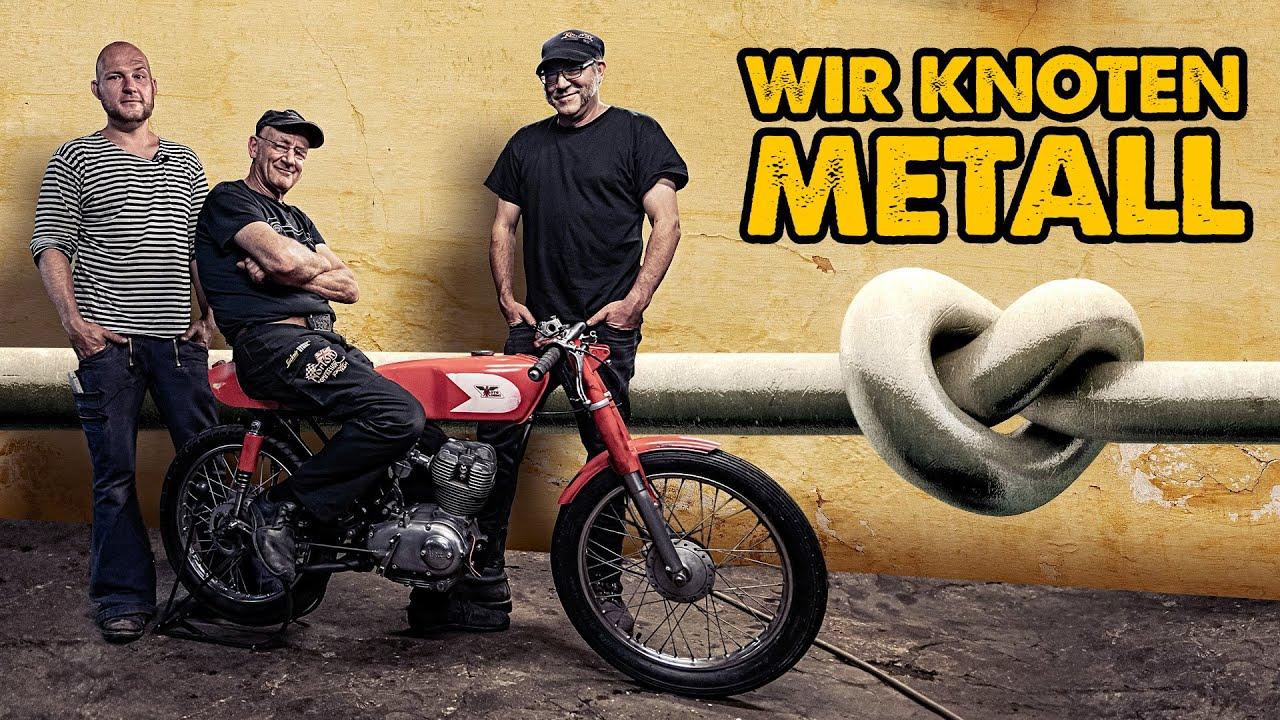 Wie knotet man Metall? | Moto Morini Corsaro 125ccm | Andi Feldmann