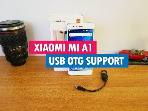 Xiaomi Mi A1 USB OTG Support