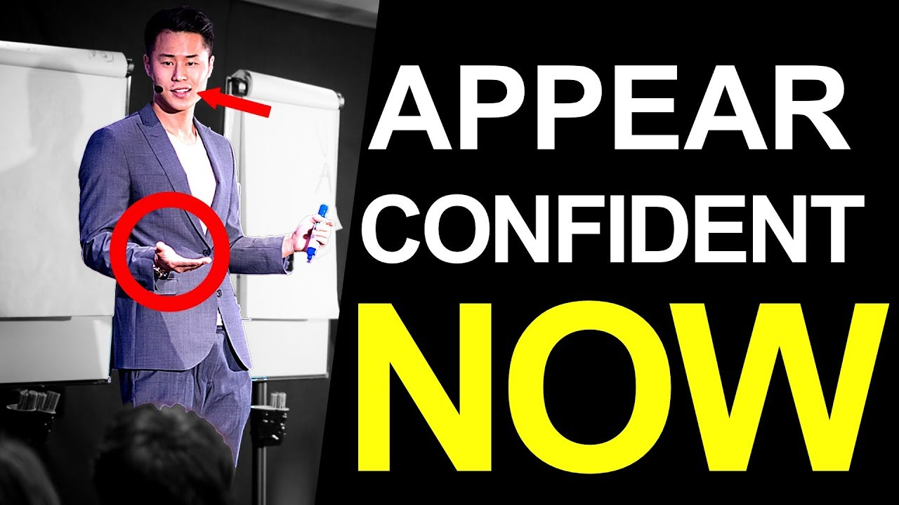 3 Secrets to Looking Confident While Speaking in Public - YouTube