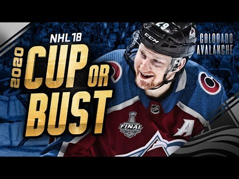 COLORADO AVALANCHE REBUILD! 2020 CUP OR BUST (NHL 18 Franchise Mode)