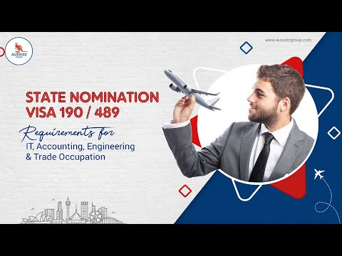 State Nomination visa 190 / 489 Requirements for IT, Account