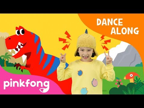 Best Hunter, T-Rex | Dinosaur Song | Dance Along | Pinkfong Songs for Children