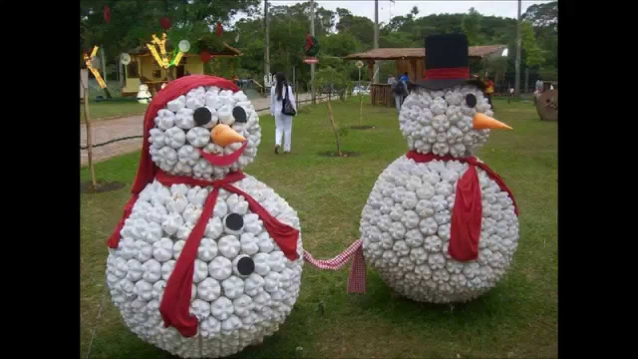 Large round christmas ornaments - Amazing And Unusual Diy Snowmen Christmas Decoration Ideas