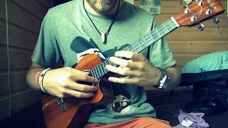 Solo Ukulele Cover   Kiss from a rose - SEAL (KG arr.)