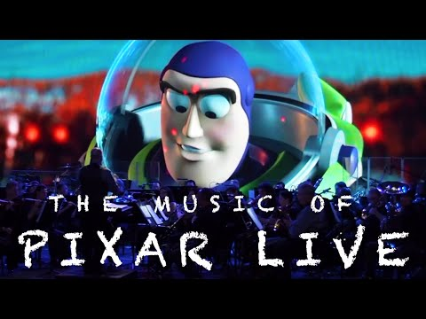 The Music of Pixar Live - Disney's Hollywood Studios - What we caught on live video and audio