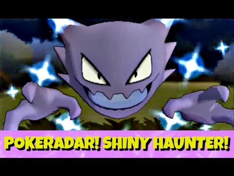 So Lucky Shiny Haunter Sparkle Grass 40 Pokeradar Chain Pokemon