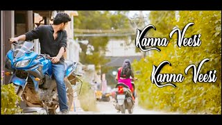 Kanna Veesi Song Cover Version | Kadhal Ondru Kanden | Athulya Ravi and KG | Daniel Vijay Creationz