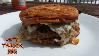 Cuban Burger Recipe - How to make a juicy cubano burger