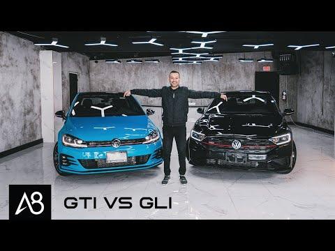 2021 Volkswagen Golf GTI VS 2021 Volkswagen Jetta GLI | Is One Better than the Other?
