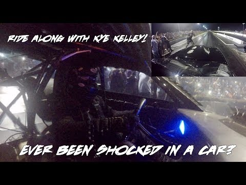 EVER BEEN SHOCKED IN A CAR? RIDE ALONG WITH STREET OUTLAWS KYE KELLEY IN THE SHOCKER!