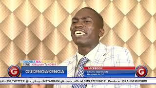 Charles Kamondo with Pilot @Gukengakenga  12th July 2019 Gikuyu TV