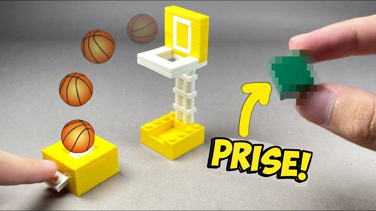 How to make a Lego  Basketball Arcade Machine