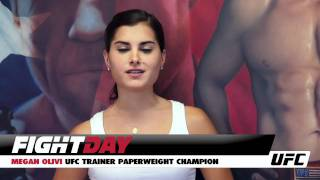 UFC Trainer II - Megan Olivi vs Mike Pyle