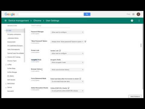 How to Manage Devices with Chrome Device Management - YouTube