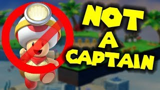 Captain Toad is NOT A CAPTAIN!