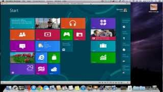 Seamless Windows 8 on Mac with Parallels Desktop 8 for Mac
