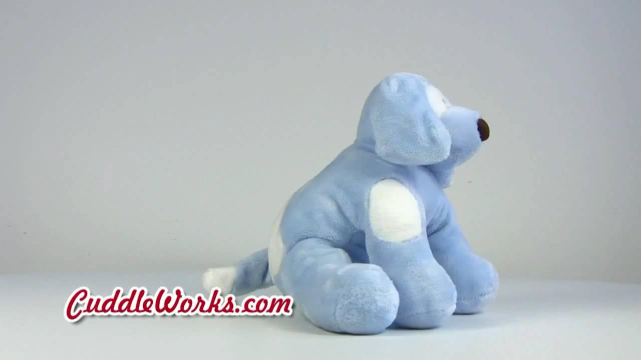 Gund Spunky Dog Blue At Cuddleworkscom Youtube