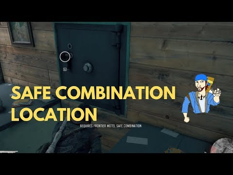 How to Find Frontier Motel Safe Combination-Days Gone
