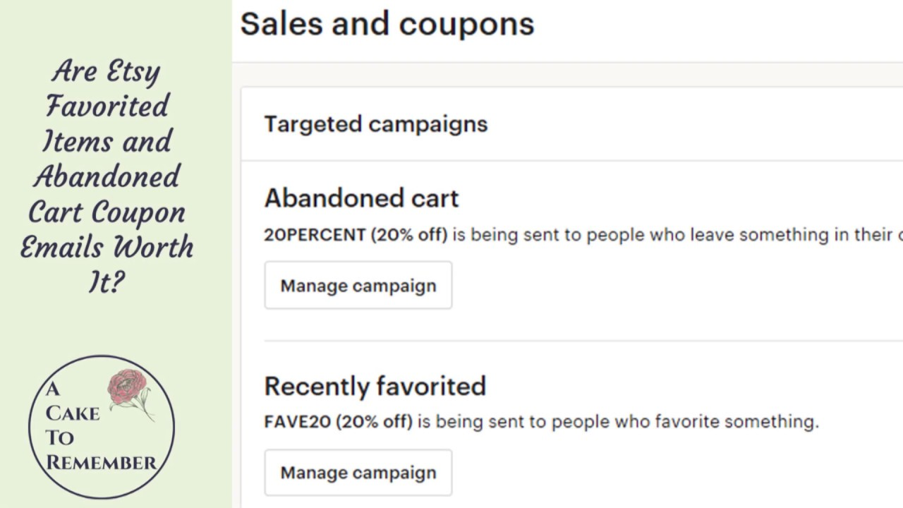 Are Etsy Targeted Offers Worth It? Etsy success marketing tips