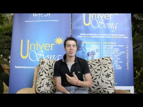 UniverSong 2012 - Entrevistas - Ilario Ferrari (Italia)