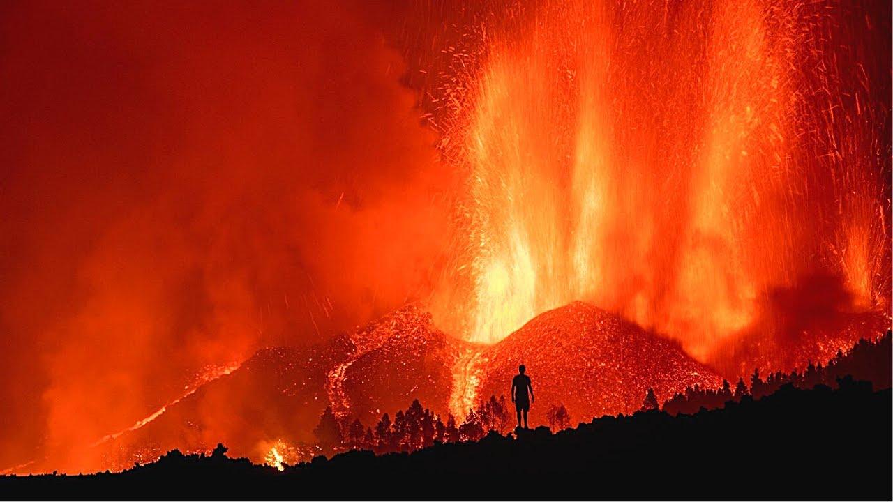 🚨 ÚLTIMA HORA: Volcán en Erupción en España (La Palma DRONE en Vivo) Isla Volcánica (Noticias 2021)