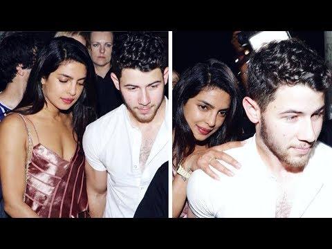 Nick Jonas PROTECTS Priyanka Chopra From Mob At Bachelorette Party