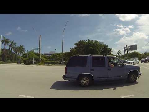 Dania Beach, Fort Lauderdale to Pompano Beach, Florida, I-95 North, 4 August 2018 GOPR2341