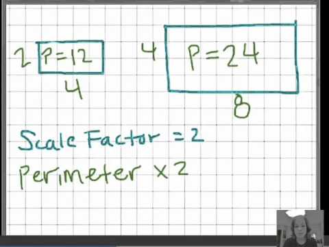 Effect of scale factor on perimeter and area youtube effect of scale factor on perimeter and area ccuart Gallery