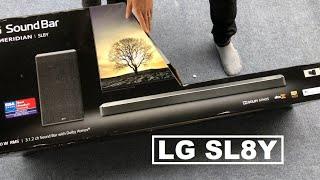 LG SL8Y, Khui mở hộp loa thanh LG SL8Y - 0977254396