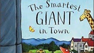 The Smartest Giant in Town - Julia Donaldson audiobook. Children's story book read-aloud screenshot 4