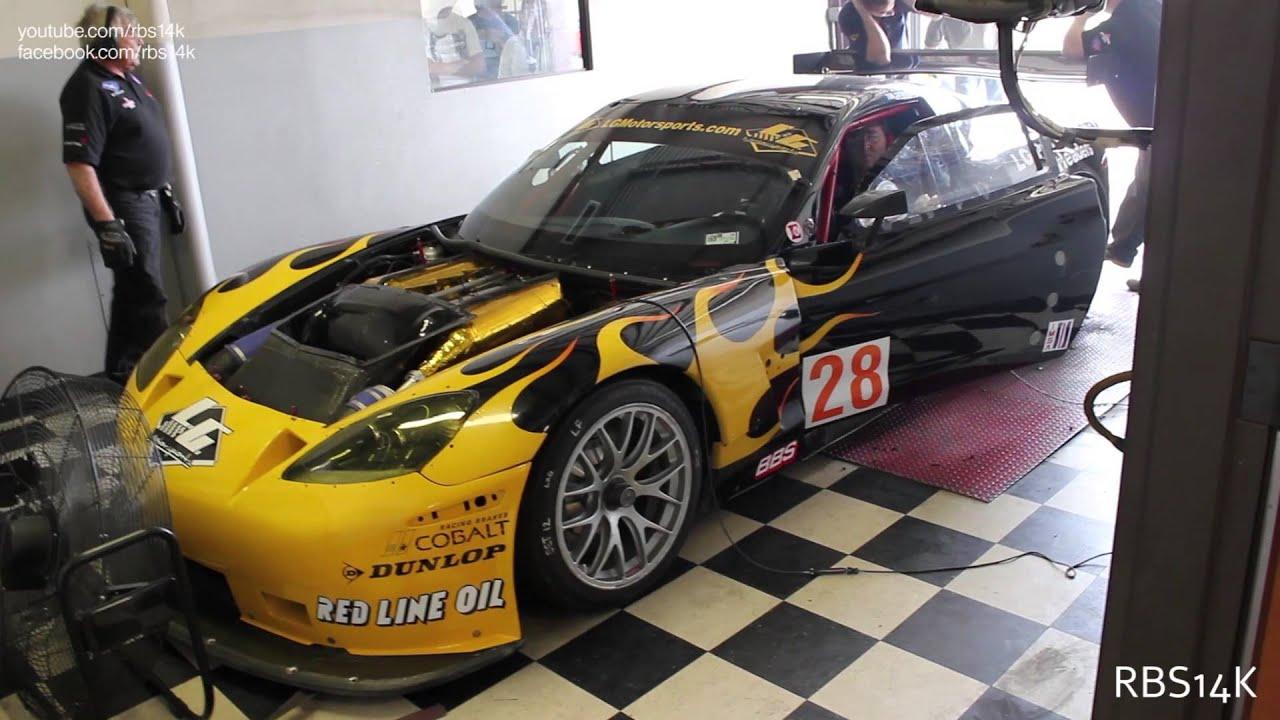 700 HP Toyota Supra & LG Motorsports Corvette GT2 Racecar on the ...