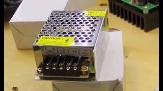 Обзор покупки, импульсный блок питания для светодиодных лент 12В 2A 24 Вт