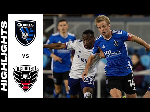 San Jose Earthquakes DC United Goals And Highlights