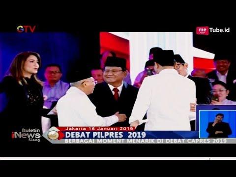 Momen Lucu Debat, Prabowo Joget Hingga Teguran Ira Koesno Bikin Ngakak - BIS 18/01