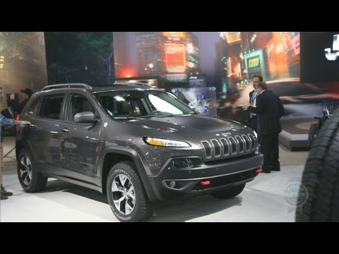 2014 jeep cherokee 2013 new york auto show youtube. Black Bedroom Furniture Sets. Home Design Ideas