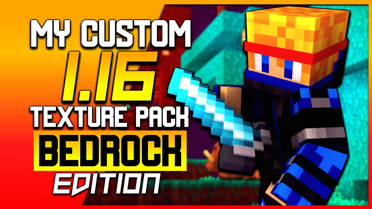 My Custom 1.14-1.16 Survival Texture Pack For MCPE/Bedrock | Minecraft Hindi