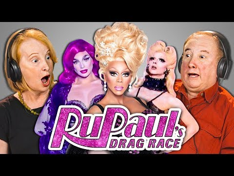 ELDERS REACT TO RUPAUL'S DRAG RACE