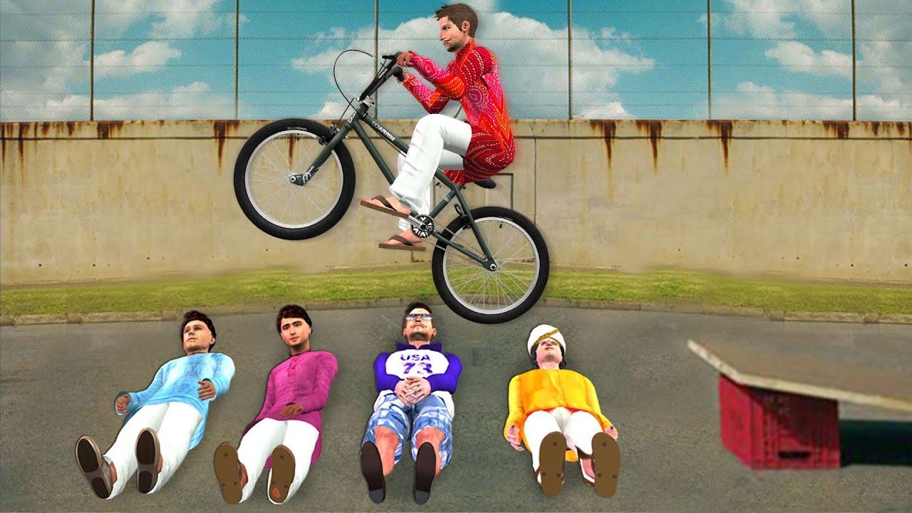 घमंडी साइकिल दौड़ Bicycle Race Comedy Video हिंदी कहानिय Hindi Kahaniya Stories Funny Comedy Video