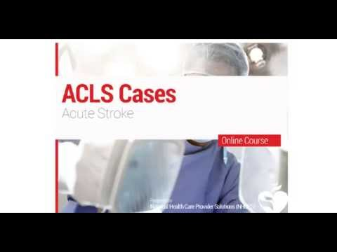 24. ACLS - Acute Stroke
