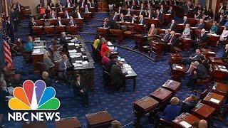 Senator Lisa Murkowski Votes No On Cloture While Collins Votes Yes | NBC News
